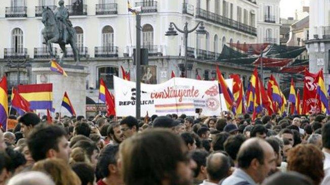 España: republicanos contra monarquía