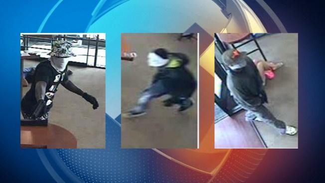 $5,000 por sospechosos de robo a banco