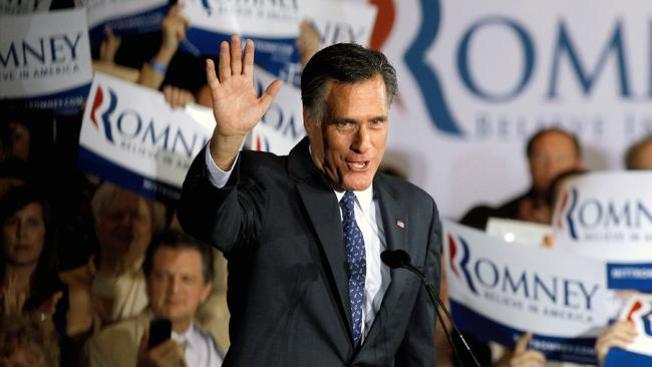 Romney agradece victoria