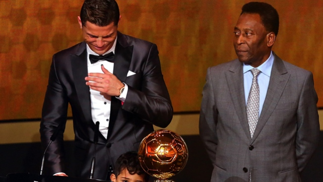Ronaldo gana el Balón de Oro 2013