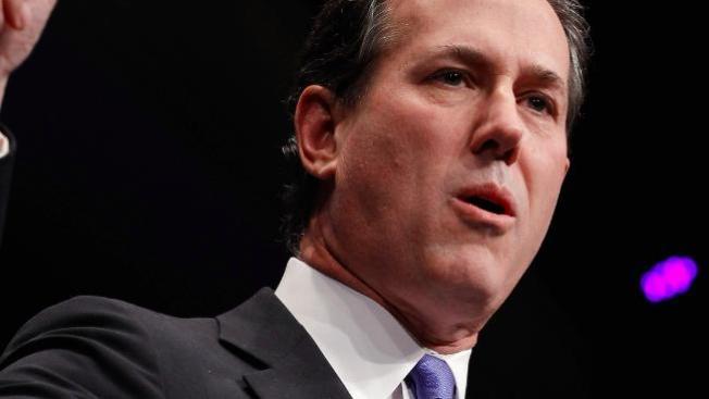 Rick Santorum coge ventaja en Texas