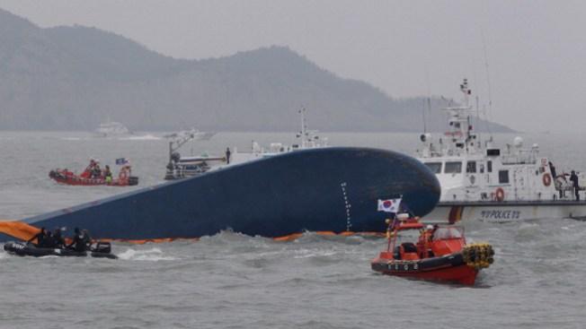 Sewol: capitán se salva de la muerte