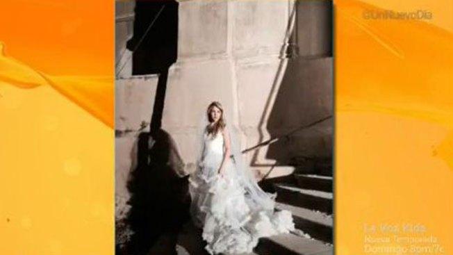 ¿Qué hace Shakira de blanco en iglesia?