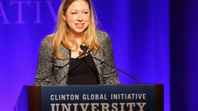 Chelsea Clinton espera su primer hijo