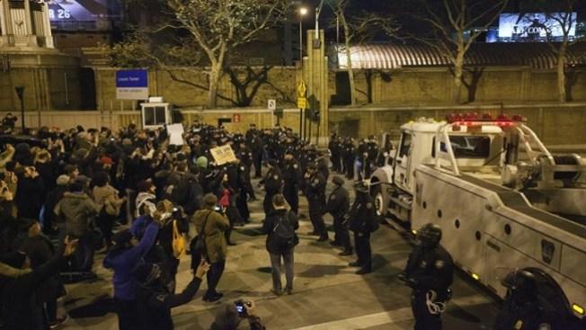 Garner: Más de 80 arrestos ante protestas