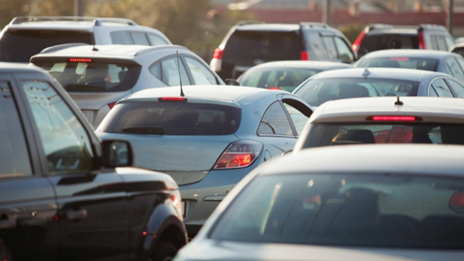 Día de caos en autopistas de Houston