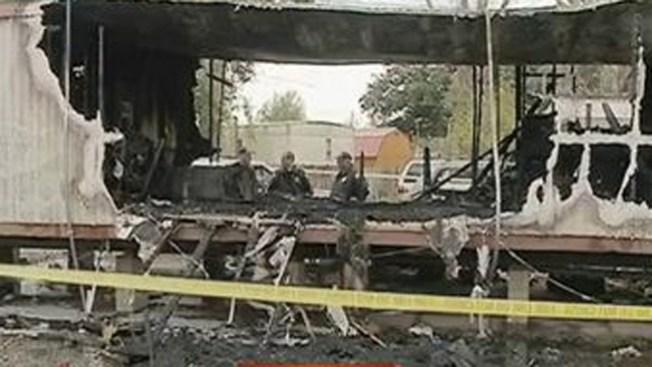 Tres niños muertos en incendio de casa