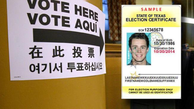 Texas: emiten identificación para votar