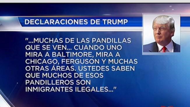 """""""Muchos pandilleros son inmigrantes ilegales"""""""