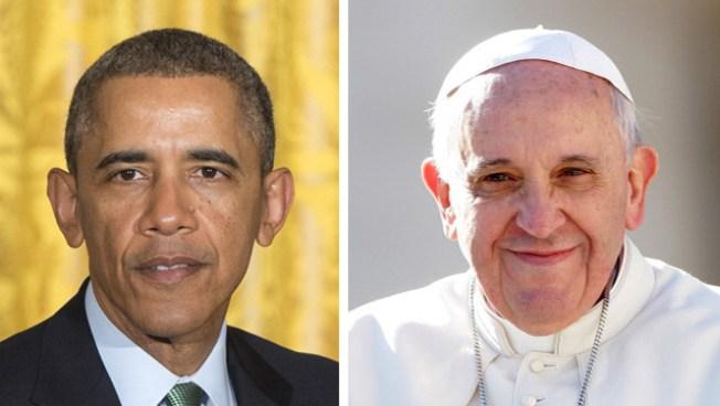 """Obama: """"conocer al Papa es maravilloso"""""""