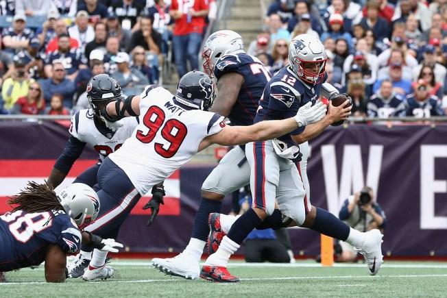 Texans cae ante Patriots en su debut en la temporada 2018