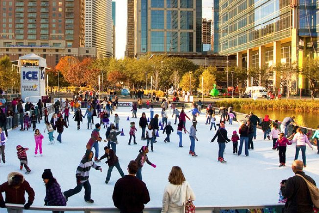 Ice on Discovery Green abre sus puertas