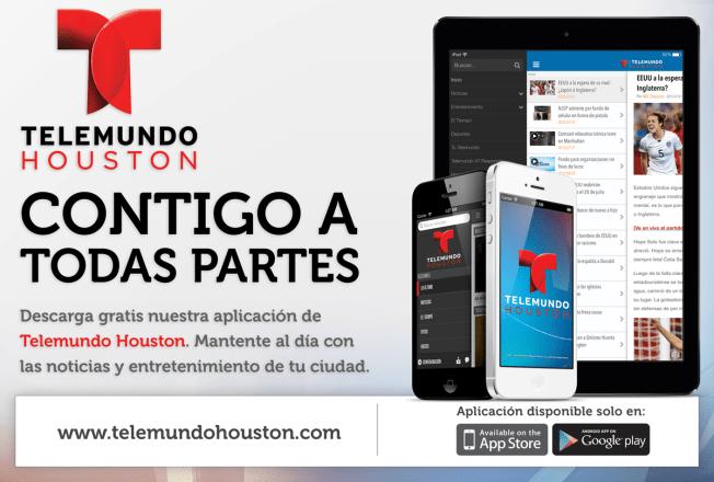 Actualiza o descarga gratis la app de Telemundo Houston