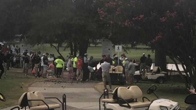 Potente rayo deja seis heridos en campeonato de la PGA en Atlanta