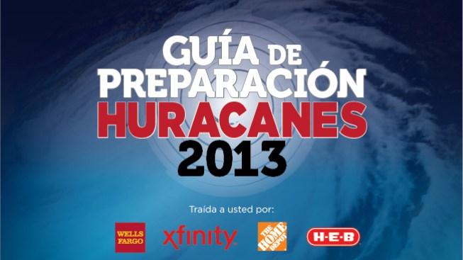 Guía de Preparación Huracanes 2013