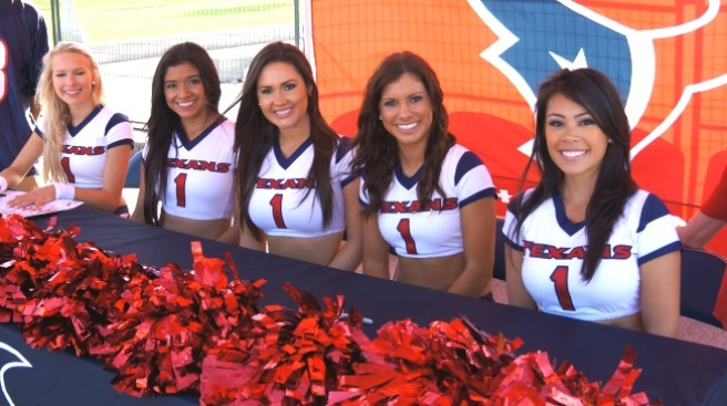 Fotos del Entrenamiento VIP de los Texans
