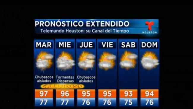 El Calor No Cede Se Sentir En 108 Grados Telemundo Houston